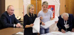 रुसको संसदीय निर्वाचनमा पुटिनको दल विजयी