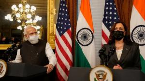 अमेरिकी उपराष्ट्रपति र भारतीय प्रधानमन्त्रीबीच भेटवार्ता