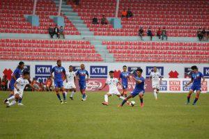 साफ च्याम्पियनसिप फुटबल अन्तर्गत आज नेपाल र भारत खेल्दै
