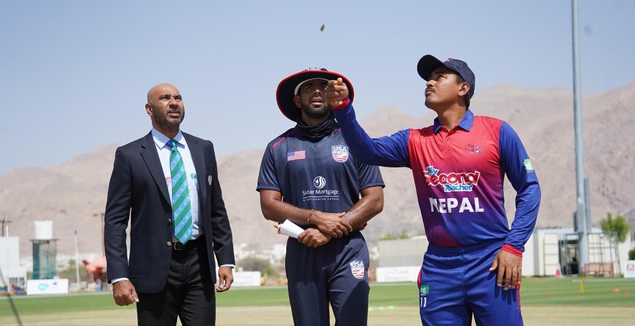 विश्वकप क्रिकेट लिग–२ : अमेरिका र नेपाल भिड्दै