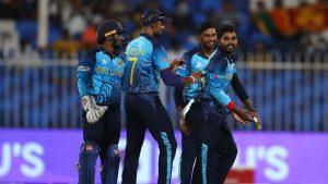 आईसीसी टी-२० विश्वकप: श्रीलंका समूह बिजेता बन्दै सुपर १२ मा