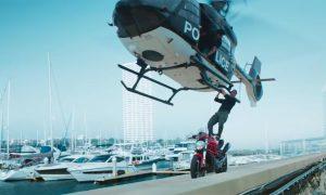 जब अक्षय हेलिकप्टरमा बिना सुरक्षा झुण्डिए …