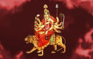 नवरात्रको तेस्रो दिन चन्द्रघण्टा देवीको पूजा आराधना गरिँदै