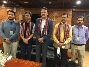 भारत भ्रमणमा गएको कांग्रेसको टोली स्वेदश फिर्ता