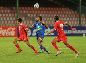 श्रीलंकाविरुद्ध नेपाल ३–२ ले विजयी