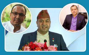 एनआरएनए निर्वाचनः बद्रिको टिमका उपाध्यक्ष र कोषाध्यक्षका उम्मेदवार कुल आचार्यको टिममा
