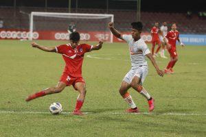 नेपाल भारतसँग पराजित, फाइनल प्रवेशका लागि अर्काे खेल कुर्नुपर्ने