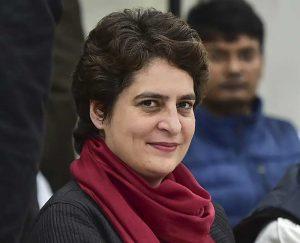 भारतीय कांग्रेसकी महासचिव प्रियंका गान्धी पक्राउ